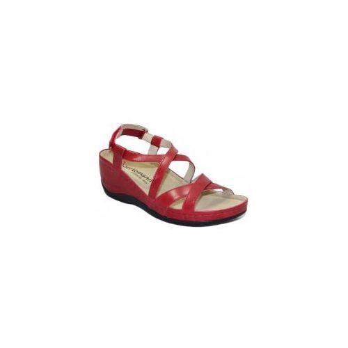 Sandały Coletta Berkemann 01751 320 dunkelblau nubuk, stopy