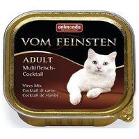 Anim. cat pasztet classic 100g - wołowina / łosoś / szpinak marki Animonda