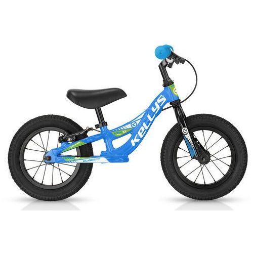 Rowerek biegowy kite 12 race niebieski z hamulcem - niebieski marki Kellys