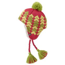Czapka magic mountain knit hat kids - pale berry marki Jack wolfskin