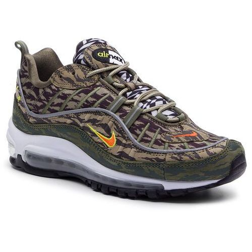 Nike Buty - air max 98 aop aq4130 200 khaki/team orange/medium olive
