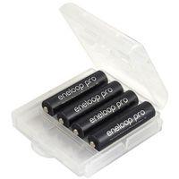 Panasonic 4 x akumulatorki eneloop pro r03 aaa 930mah bk-4hcde (solidny pojemnik)
