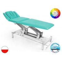Stół rehabilitacyjny terapeuta m-s5.f0 z elektryczną regulacją wysokości z ramy i funkcją fotela marki Meden-inmed