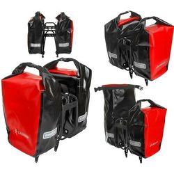 Sakwa na bagażnik CROSSO DRY SMALL 30L czerwona