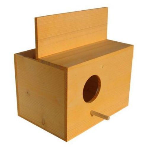 Gawpol Budka lęgowa dla papużek drewniana 19x15x13 cm