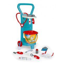 - zestaw mały doktor w praktycznym wózeczku marki Wader