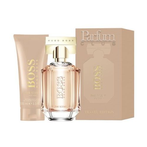 boss the scent for her zestaw edp 100 ml + balsam do ciała 100 ml dla kobiet marki Hugo boss