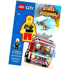 Lego city straż pożarna kolorowanka marki Ameet