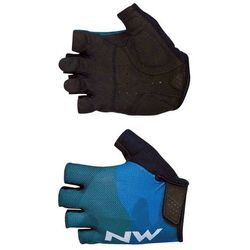 Northwave rękawiczki rowerowe flag 3 short gloves m blue