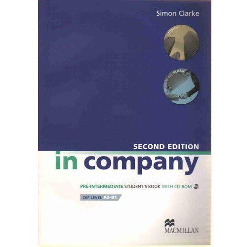 In Company Pre-Intermediate, Second Edition, Student's Book (podręcznik) + CD-ROM (159 str.)