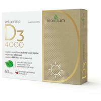 Kapsułki Biovitum Witamina D3 4000 x 60 kapsułek