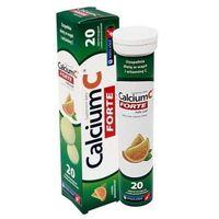 Tabletki Calcium C Forte smak pomarańczowy x 20 tabletek musujących