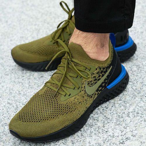 Buty sportowe Nike Epic React Flyknit (AQ0067-301), kolor zielony