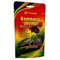 TROPICAL Gammarus & Shrimps Mix - pokarm dla żółwi 20g (5900469103135)