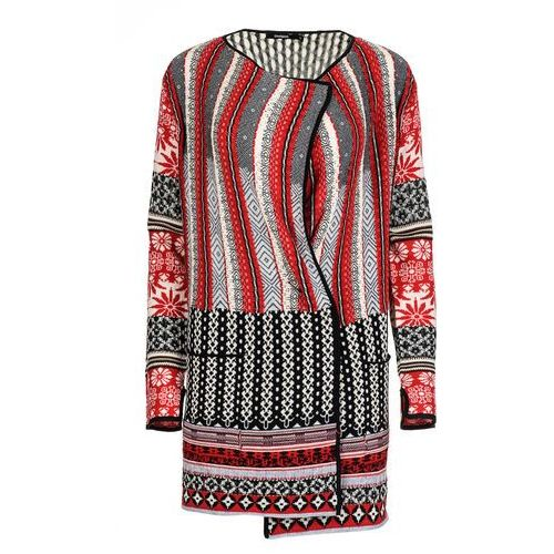 Desigual sweter damski Call M czerwony (8434486203945)