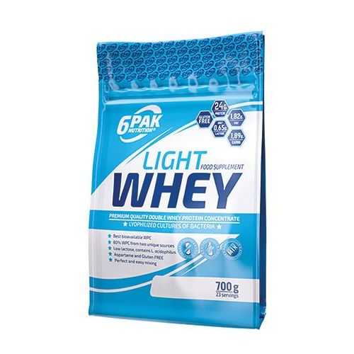 Light whey - 700g - toffee 6pak