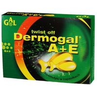 Kapsułki Dermogal A+E 500 mg