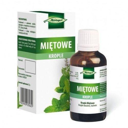 Krople miętowe 35 g (Herbapol Lublin) (5909990030620)