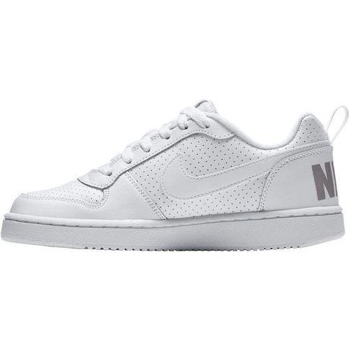 Nike sportswear court borough tenisówki i trampki white (0091202307141)