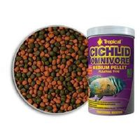 Tropical cichlid omnivore medium pellet pokarm dla pielęgnic