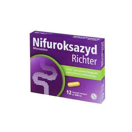 Tabletki Nifuroksazyd Richter 200mg x 12 tabletek