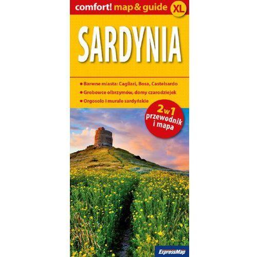 ExpressMap Sardynia 2w1 XL Przewodnik + mapa
