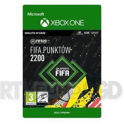 Fifa 20 2200 punktów [kod aktywacyjny] xbox one marki Microsoft