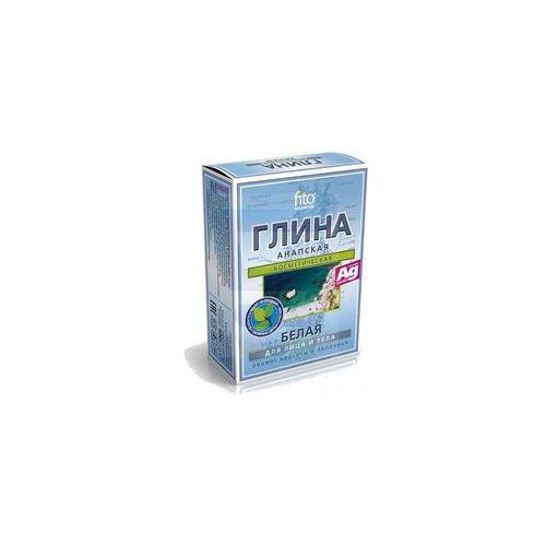 Fitokosmetik - kosmetyczna biała glinka anapska z jonami srebra