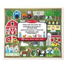Drewniany duży zestaw farma marki Melissa & doug