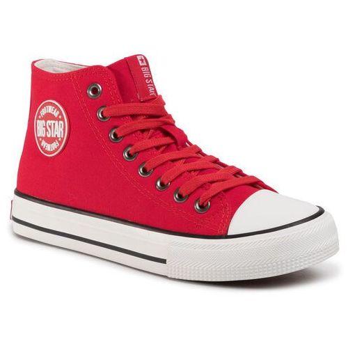 Trampki - ff274a403 czerwony marki Big star