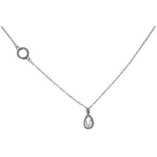 362045b150319a ▷ Srebrny naszyjnik cyrkonia, kolor szary - opinie i ceny - Howlit ...
