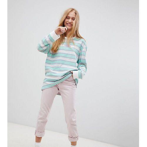 Exclusive oversized organic cotton stripe long sleeve t-shirt - multi, Puma, 32-40