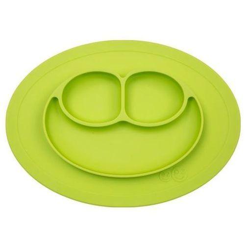 Ezpz silikonowy talerzyk z podkładką 2w1 mini mat - zielony