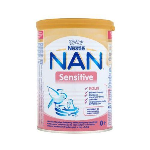 NESTLE NAN 400g Sensitive Kolki Preparat do postępowania dietetycznego dla niemowląt od urodzenia 0