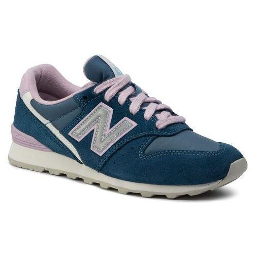 New balance Sneakersy - wl996ae niebieski