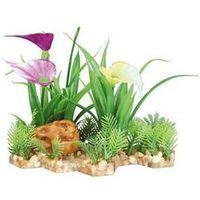 plastic plant in gravel bed. 13 cm - darmowa dostawa od 95 zł! marki Trixie