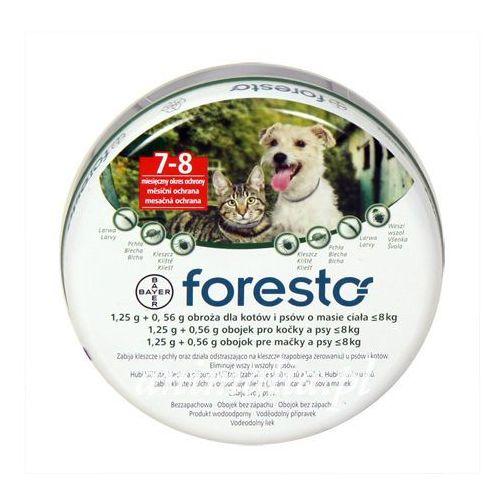 Foresto obroża przeciw pchłom i kleszczom dla psów i kotów 38cm Bayer