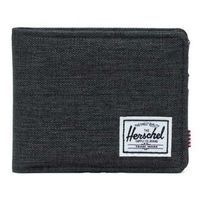 portfel HERSCHEL - Roy + Coin RFID Black Crosshatch (02090)