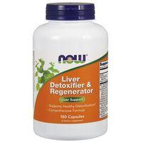 Kapsułki Now Foods Liver Detoxifier & Regenerator 180 kaps.
