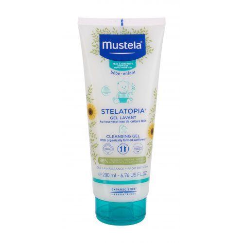 Mustela Bébé Stelatopia® Cleansing Gel żel pod prysznic 200 ml dla dzieci - Sprawdź już teraz