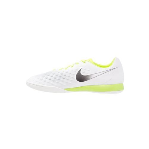 Nike Performance MAGISTAX ONDA II IC Halówki white/black/volt/pure platinum