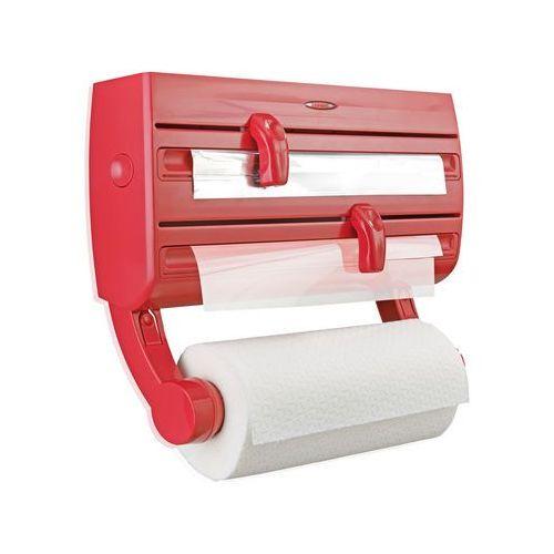 Podajnik LEIFHEIT do folii i papieru Parat F2 Czerwony (4006501257765)