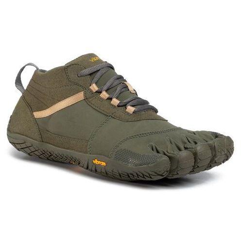 Buty VIBRAM FIVEFINGERS - V-Trek 18M7402 Military/Dark Grey, kolor zielony