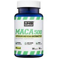 Suplementy prozdrowotne UNS MACA 500 (PIPERZYCA PERUWIAŃSKA) 30 tabl. Najlepszy produkt