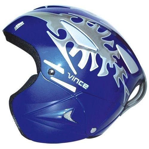 Axer sport Kask narciarski vince niebieski (rozmiar s)