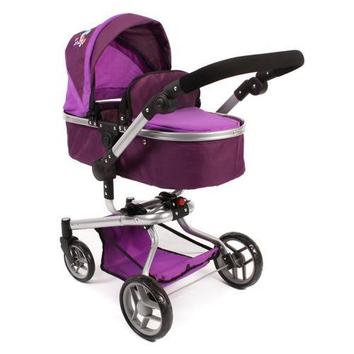 Bayer Chic Wózek dla lalek YOLO, fioletowy
