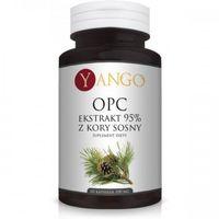 Kapsułki OPC 95% - Ekstrakt z Kory Sosny (60 kaps.) Yango