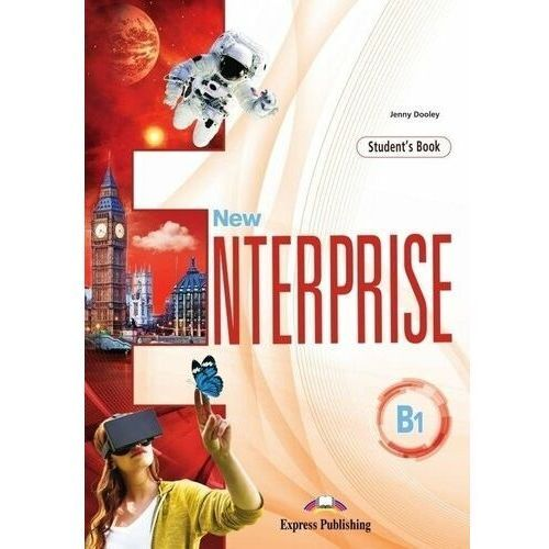 New Enterprise B1 SB + DigiBook EXPRESS PUBL. - Jenny Dooley (9781471569906)