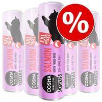 Pakiet original snackies xxl, 5 tubek w super cenie! - kurczak, 150 g marki Cosma
