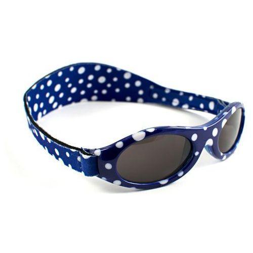 Okulary przeciwsłoneczne dzieci 2-5lat UV400 BANZ - Blue Dot